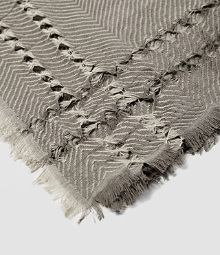 Femmes Spine Scarf (Fawn Brown Marl) - product_image_alt_text_4