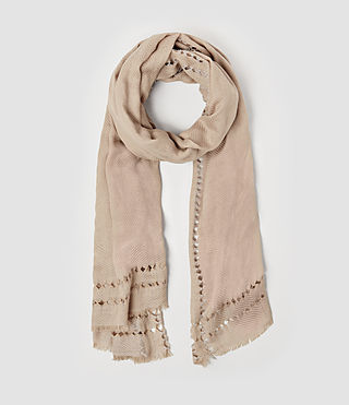 Womens Spine Scarf (ROSE PINK)