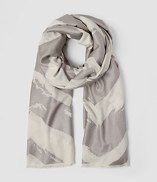 Mujer Macchia Scarf (PORCELAIN WHITE) - product_image_alt_text_1