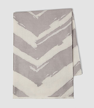 Mujer Macchia Scarf (PORCELAIN WHITE) - product_image_alt_text_3