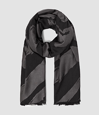 Mujer Macchia Scarf (Black) - product_image_alt_text_1