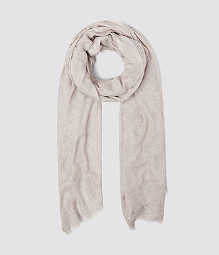 Womens Grigia Scarf (Sable Brown Marl)