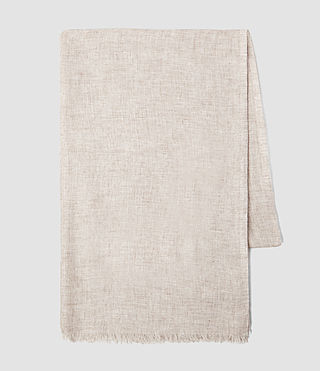 Femmes Grigia Scarf (Sable Brown Marl) - product_image_alt_text_3