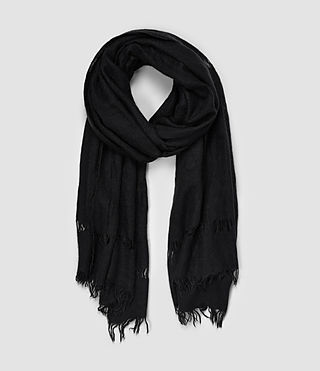 Womens Priska Scarf (Black)