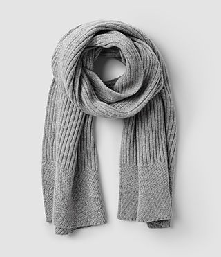 Women's Walkon Scarf (Grey Marl)