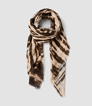 Women's Black Iris Scarf (military wren/nude)