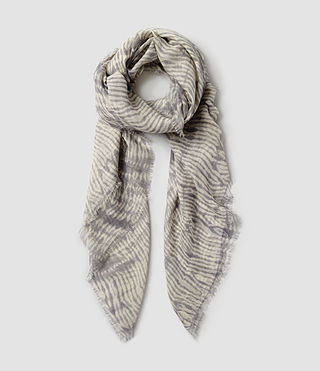 Womens Alabama Sunset Scarf (steeple grey/nude)