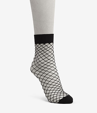 Damen Net Socks (Black)