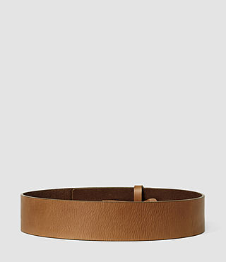 Mujer Mimosa Leather Waist Belt (Tan) - product_image_alt_text_2
