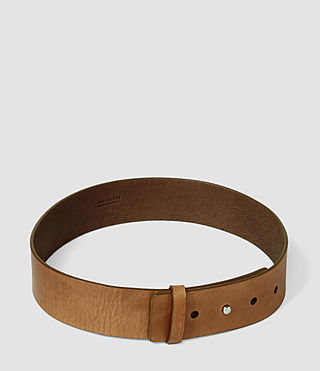 Mujer Mimosa Leather Waist Belt (Tan) - product_image_alt_text_3
