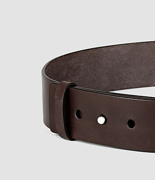 Womens Mimosa Leather Waist Belt (Chocolate Brown) - product_image_alt_text_3