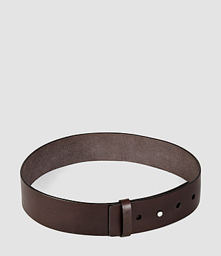 Womens Mimosa Leather Waist Belt (Chocolate Brown) - product_image_alt_text_4