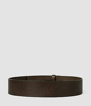 Damen Mimosa Leather Waist Belt (DARK CHOCOLATE) - product_image_alt_text_2
