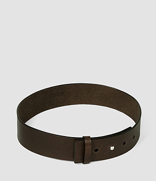 Damen Mimosa Leather Waist Belt (DARK CHOCOLATE) - product_image_alt_text_3