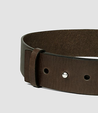 Damen Mimosa Leather Waist Belt (DARK CHOCOLATE) - product_image_alt_text_4