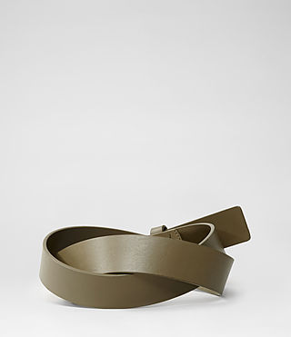 Womens Jeans Belt (Cement) - product_image_alt_text_2
