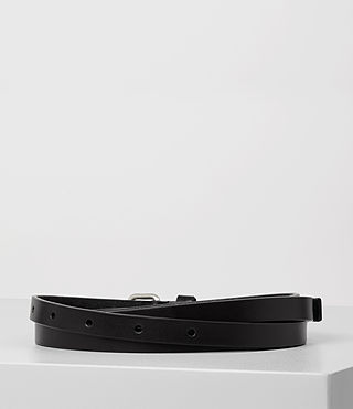 Mujer Bale Waist Belt (Black) - product_image_alt_text_4
