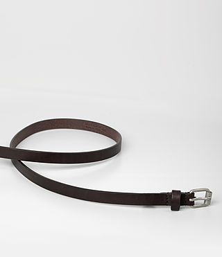 Damen Bale Leather Waist Belt (Ebony) - product_image_alt_text_3