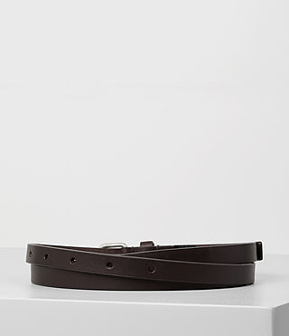 Damen Bale Leather Waist Belt (Ebony) - product_image_alt_text_4