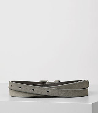 Mujer Bale Waist Belt (Mid Grey) - product_image_alt_text_4