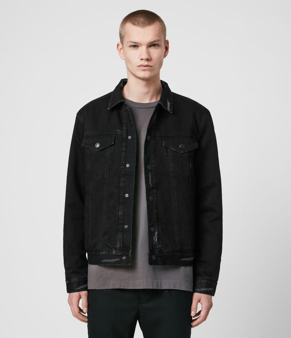 Brind Reversible Denim Jacket