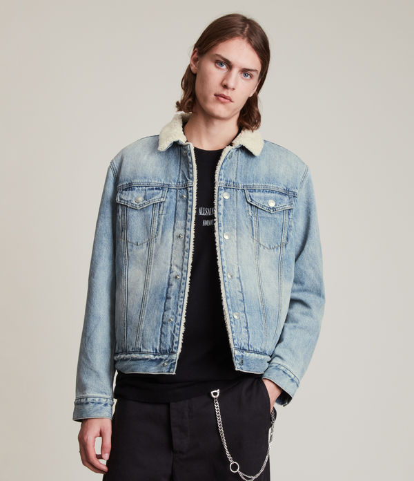 Ilkley Sherpa-Lined Denim Jacket