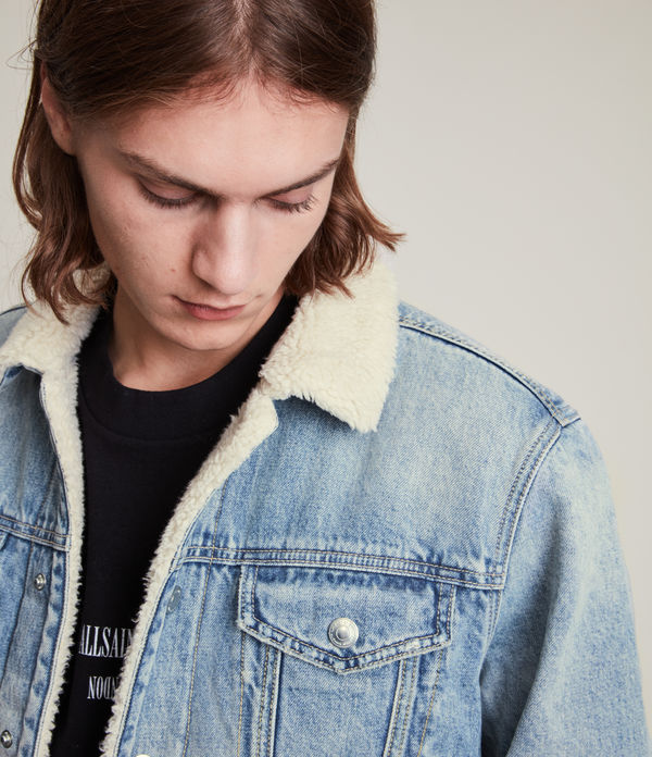 Giacca Ilkley - In denim con colletto shearling