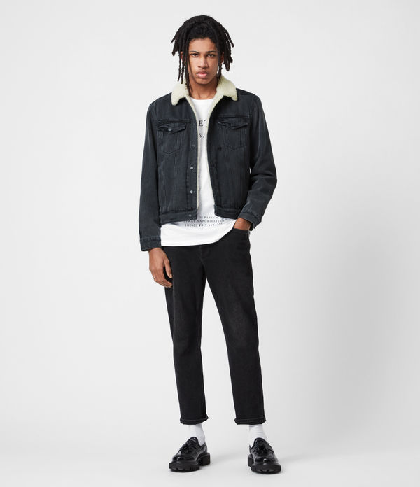 Morton Sherpa-Lined Denim Jacket