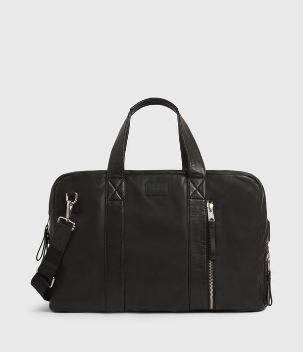 Aviator Leather Holdall Bag