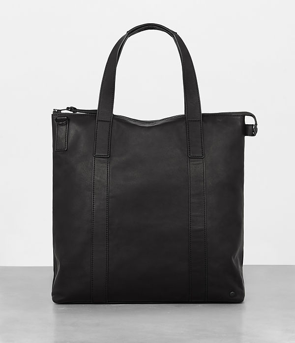 hayes leather tote