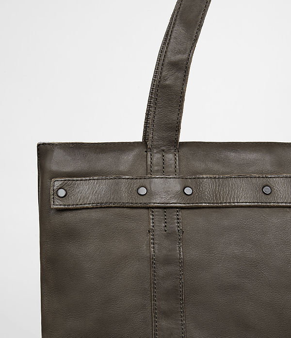 Storm Leather Tote