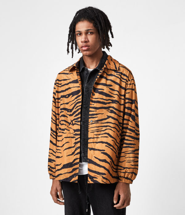 Luca Tiger Print Jacket
