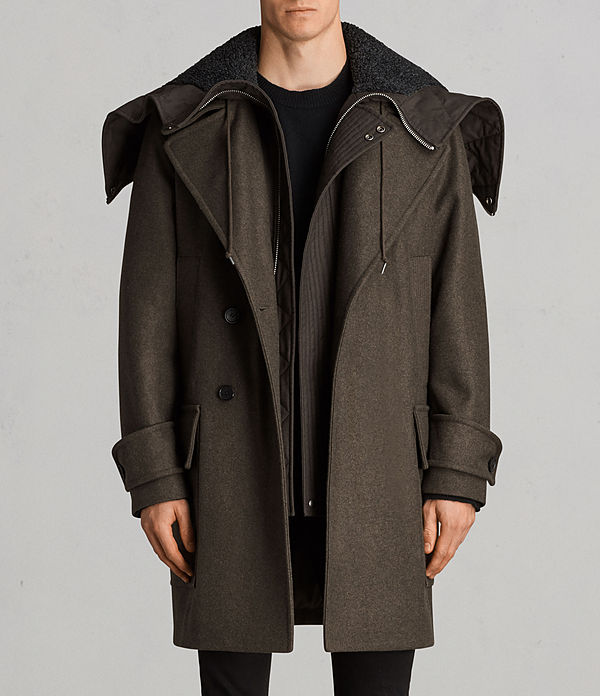 All saints mens pilgrim parka