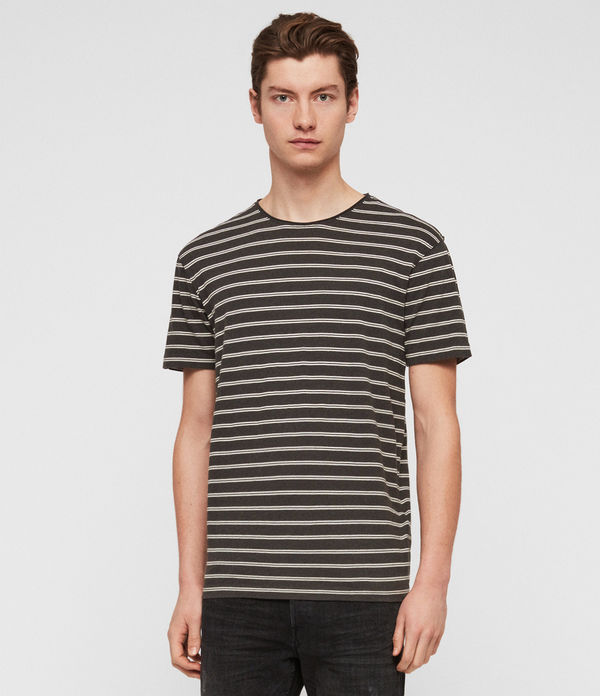 Figure Stripe Crew T-Shirt