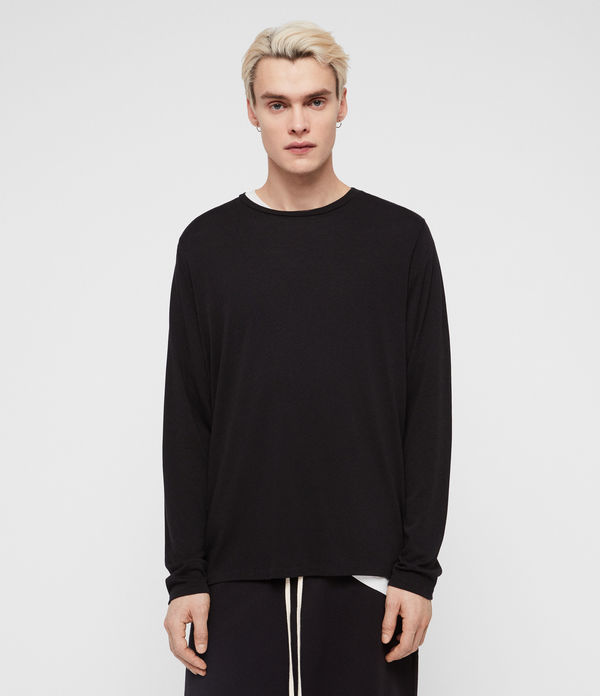 Pluto Long Sleeve Crew T-Shirt