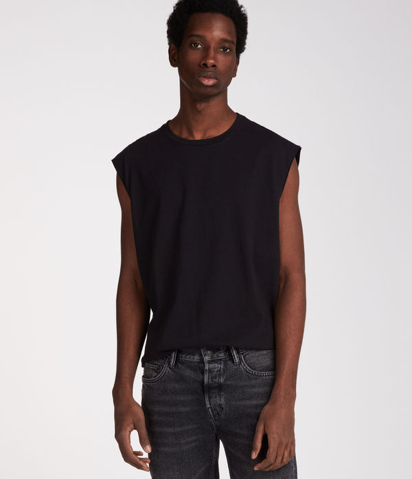 Heton Sleeveless Crew T-Shirt