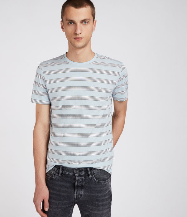 hall stripe crew t-shirt