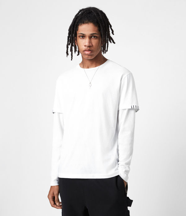 haven layered crew t-shirt