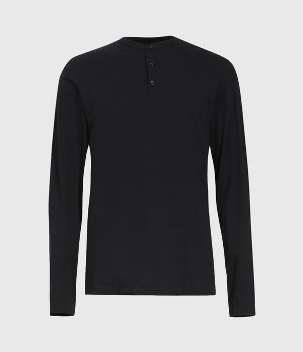 Kershaw Long Sleeve Henley T-Shirt