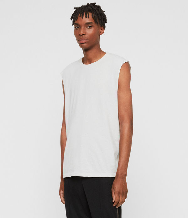 Acetic Sleeveless Crew T-Shirt