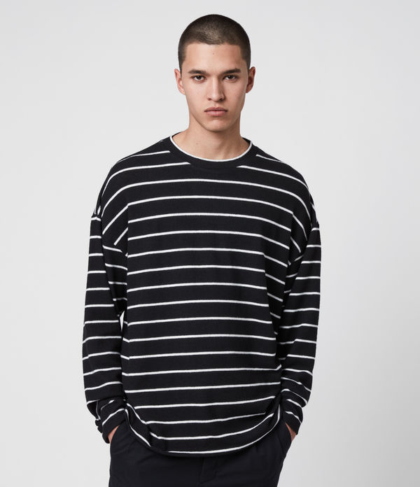 tobias long sleeve crew t-shirt