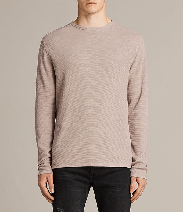 Clash Long Sleeved Crew T-Shirt
