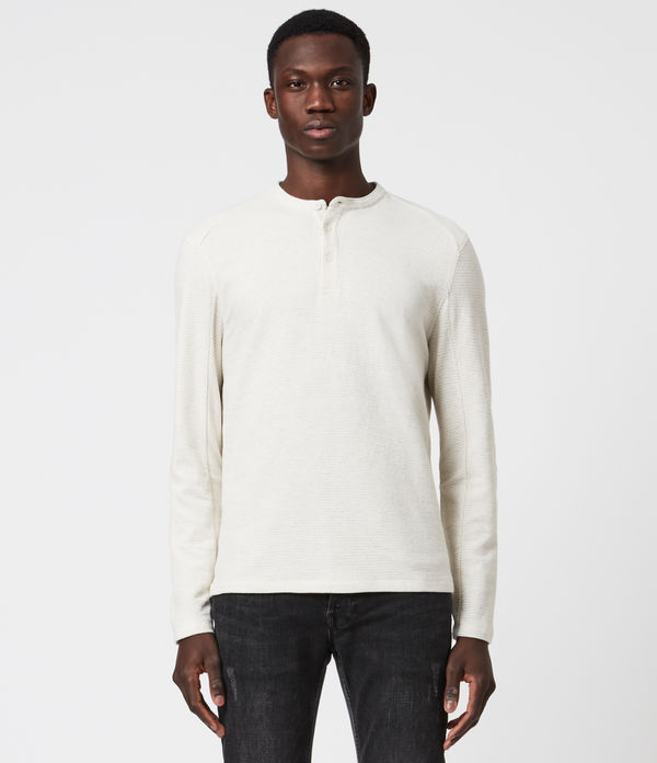 Bjorn Long Sleeve Henley T-Shirt
