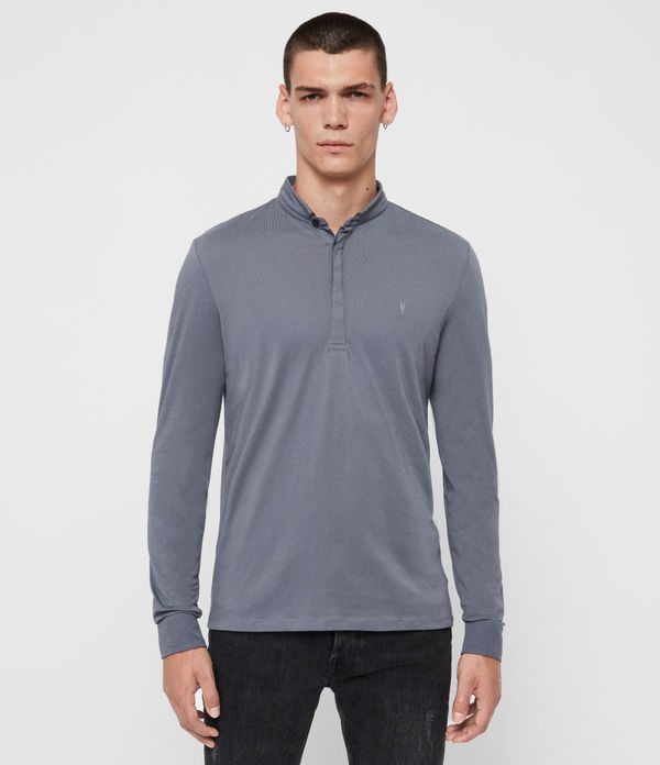 grail long sleeve polo shirt