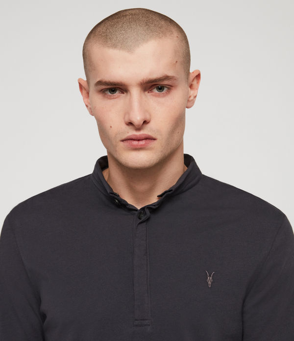 ALLSAINTS - Polo Manga Larga Grail - 2