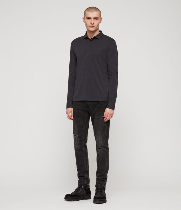 ALLSAINTS - Polo Manga Larga Grail - 3