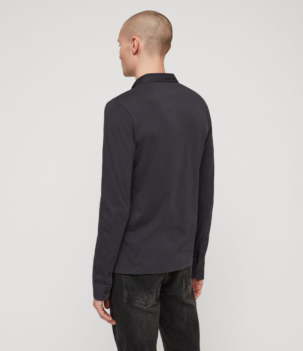 ALLSAINTS - Polo Manga Larga Grail - 4