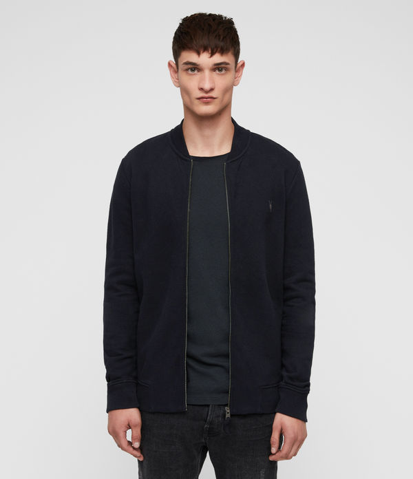 raven sweat bomber jacket