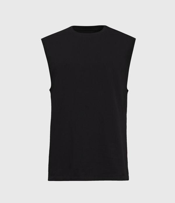 vision sleeveless crew t-shirt