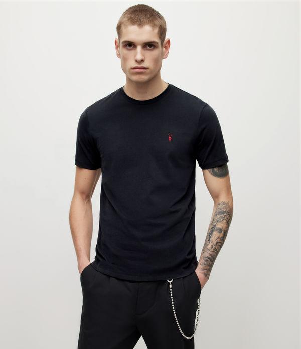 Brace Contrast Crew T-Shirt
